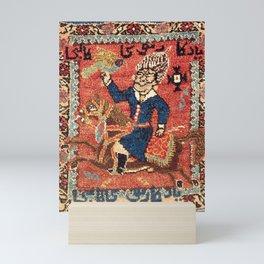 Bijar Kurdish Double Bag Print Mini Art Print