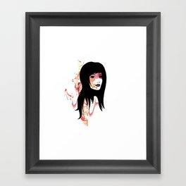Cherry Waves Framed Art Print