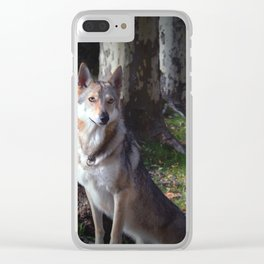 Wolfdog Clear iPhone Case