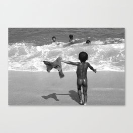 Children of Bali Canvas Print