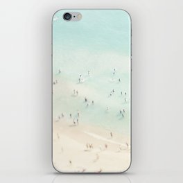 beach summer fun iPhone Skin