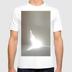 Angel In My Room Mens Fitted Tee White MEDIUM