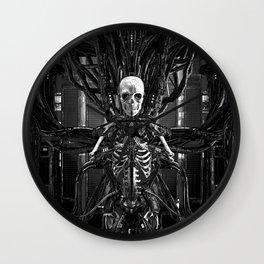 The Quantum Reaper Wall Clock