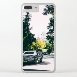Los Angeles street Clear iPhone Case