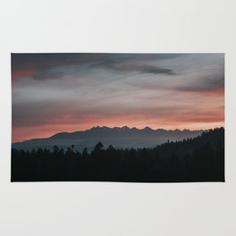 Mountainscape - Landscape and Nature Photography Rug