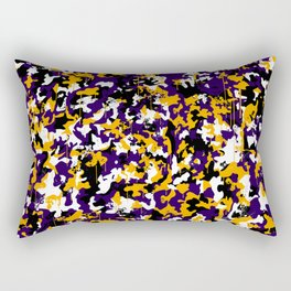 Paint camouflage Rectangular Pillow