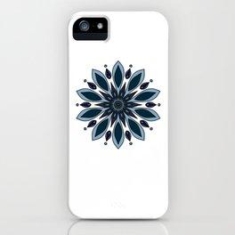 Blue knapweed flower iPhone Case