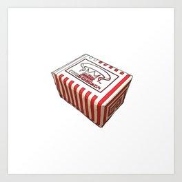 Snack Box Art Print