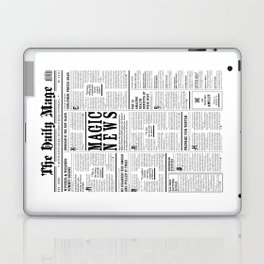 The Daily Mage Fantasy Newspaper Laptop & iPad Skin