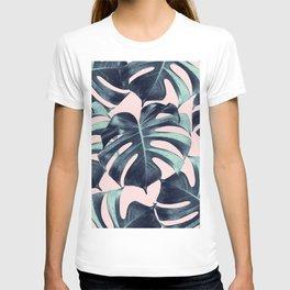 Tropical Monstera Leaves Dream #3 #tropical #decor #art #society6 T-shirt