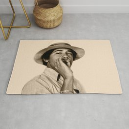 Young Obama Cool Rug