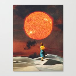 Your Heart Is The Sun Canvas Print