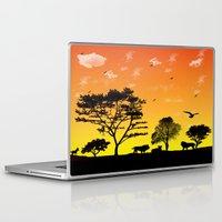 safari Laptop & iPad Skins featuring Safari by Kaitlynn Marie