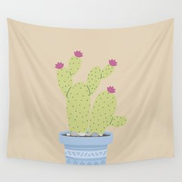 Suculents Cactus Plants Wall Tapestry