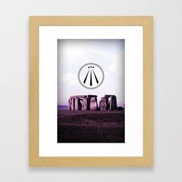 the Awen Framed Art Print