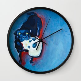 HOT NIGHT HOUND Wall Clock