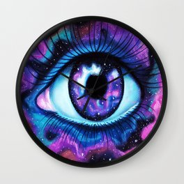 We Are All Made Of Stardust Wall Clock