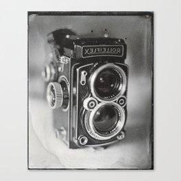 Rolleiflex Camera Tintype Canvas Print
