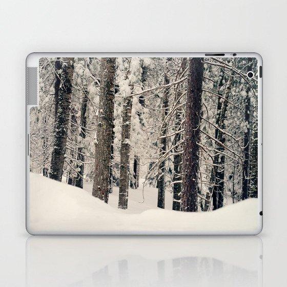 Winter Woods 1 Laptop & iPad Skin