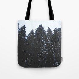 Cold Storm Tote Bag
