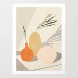 Vases2 Art Print
