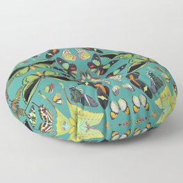 BUTTERFLY FLASH MOB Floor Pillow