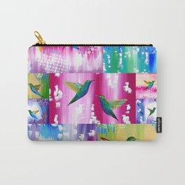 Hummingbird Cushion Carry-All Pouch