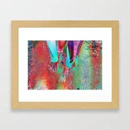 THE CODE Framed Art Print