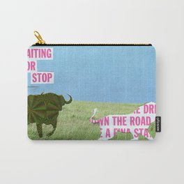 The vegan bull Carry-All Pouch