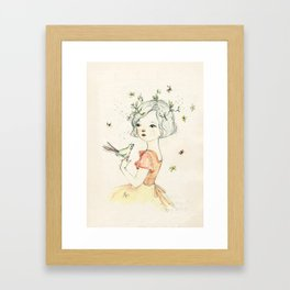 mae Framed Art Print