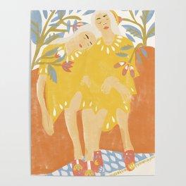 Botanical Girls Poster