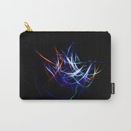 Abstract Multi-Color Light Effect Carry-All Pouch