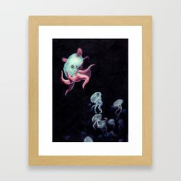 Bioluminescence Framed Art Print