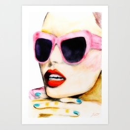 Waiting For Summer To Happen Art Print