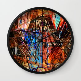 Blasphemous Geometry Wall Clock
