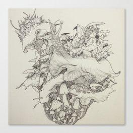 Slug Lord Canvas Print