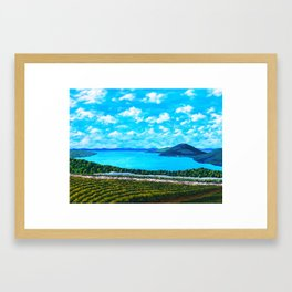 Canandaigua Lake Framed Art Print