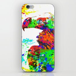 Regal Condor Splatter Paint Effect iPhone Skin