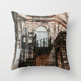 Secret Door to the Orient Throw Pillow