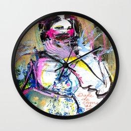 Dale de comer al conejito Wall Clock