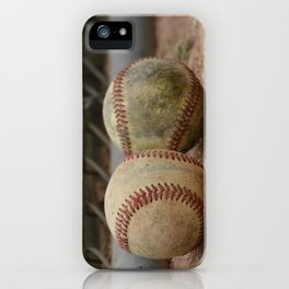 Baseballs iPhone Case