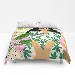 Floral fever Comforters