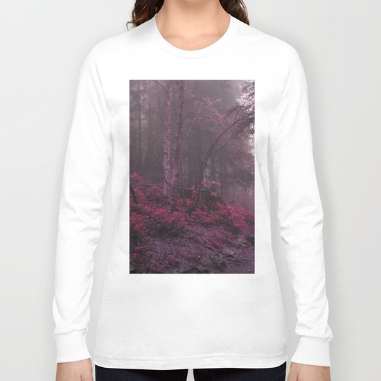 Fantasy Forest #woods Long Sleeve T-shirt