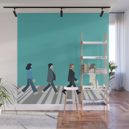 The tiny Abbey Road Wall Mural