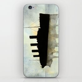 Titanic watercolour iPhone Skin