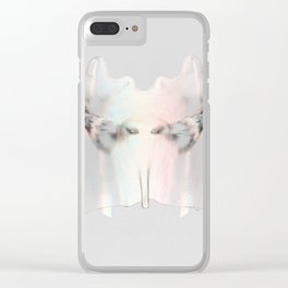Splitting Hairs Clear iPhone Case