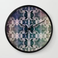 lace Wall Clocks featuring Lace by Truly Juel