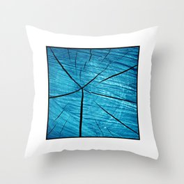 wood abstract II Throw Pillow