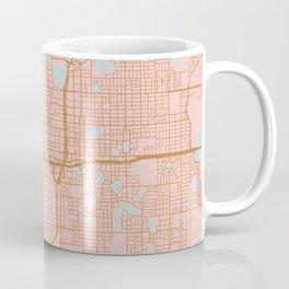 Orlando map, Florida Coffee Mug