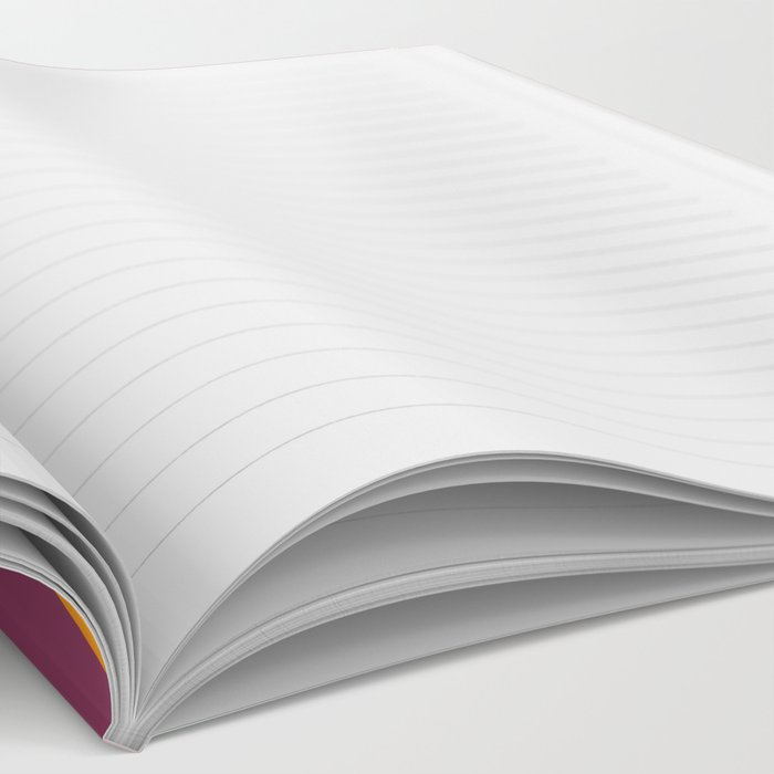 Retro Hexagonzo Notebook